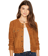 Lucky Brand - Suede Pocket Jacket
