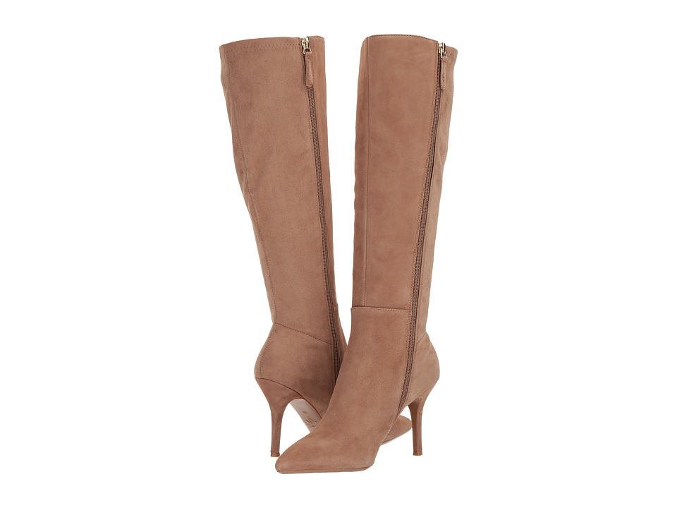 Nine West Fallon (Natural/Natural Suede) Women