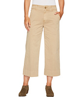 Lucky Brand - Wide Leg Crop Pants in Khaki