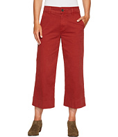 Lucky Brand - Wide Leg Crop Pants in Rich Sienna