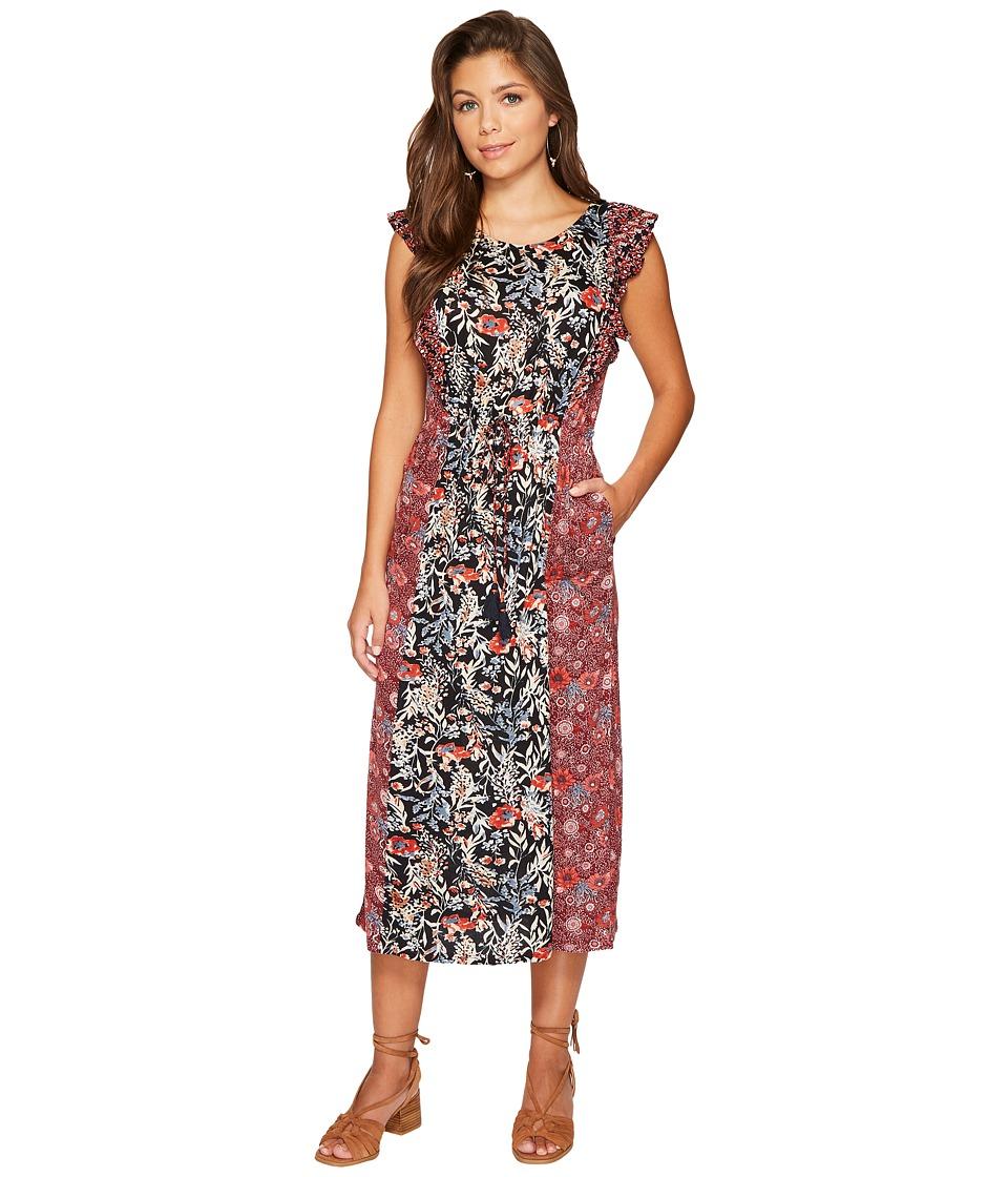 Lucky Brand Mixed Floral Dress (Multi) Women
