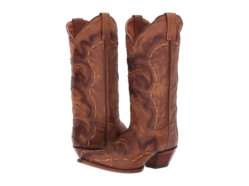 Dan Post Everlee (Tan/Brown) Cowboy Boots