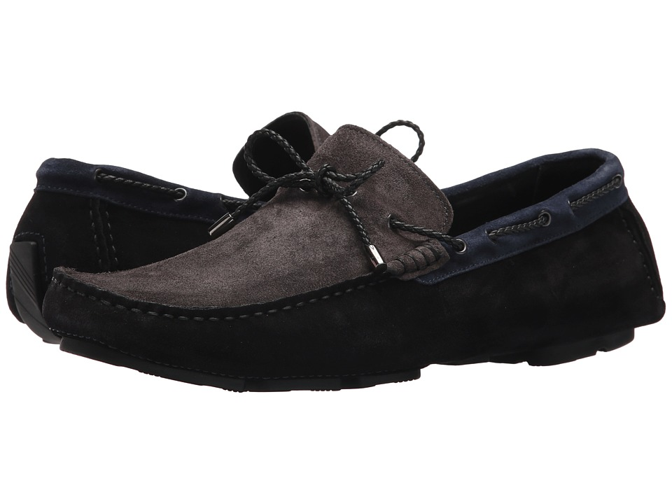 BUGATCHI - Capri Moccasin (Nero) Mens Moccasin Shoes