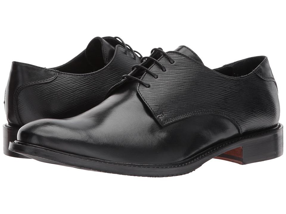 BUGATCHI - Sorrento Derby (Nero) Mens Slip on  Shoes