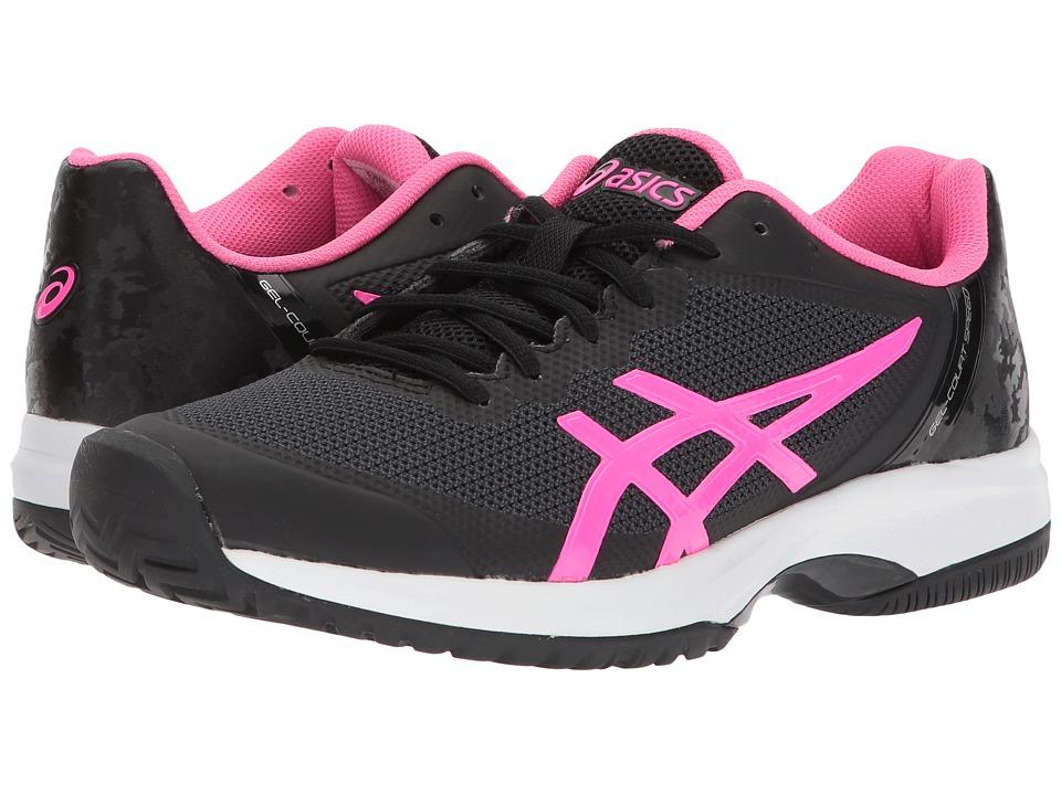 ASICS Gel-Court Speed (Black/Hot Pink/White) Women's Cross Training Shoes