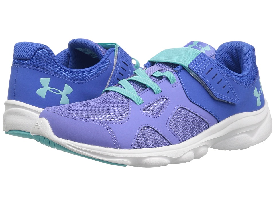 Under Armour Kids - UA GPS Pace RN AC (Little Kid) (Mediterranean/Talc Blue/Tropical Tide) Girls Shoes