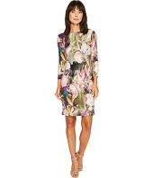 Karen Kane - Painted Floral Sheath Dress