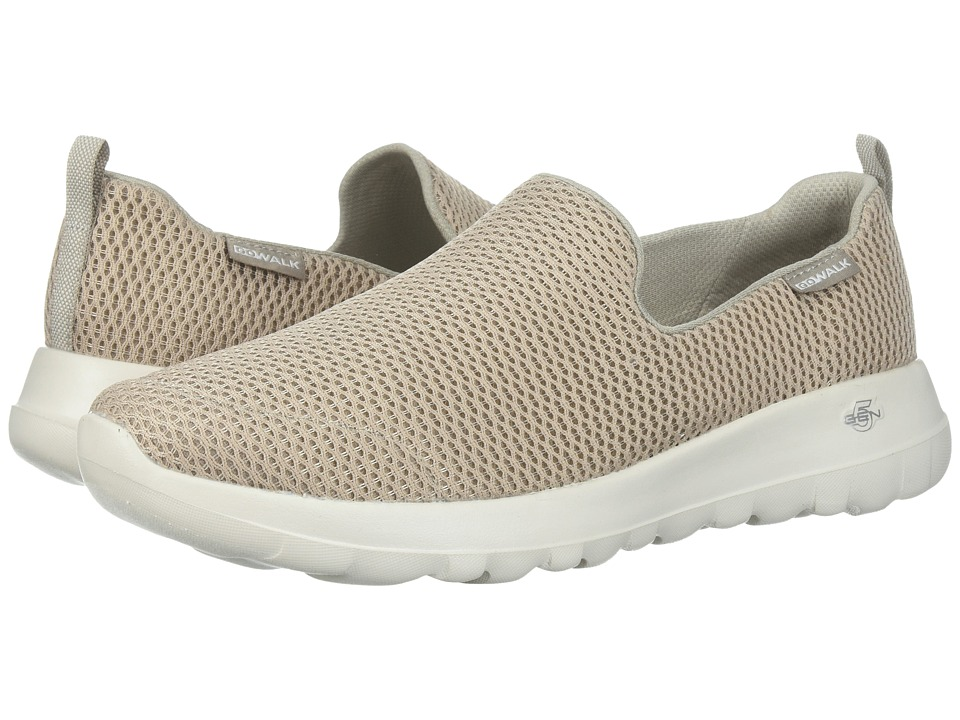SKECHERS Performance Go Walk Joy (Taupe) Slip-On Shoes
