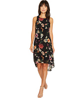 Karen Kane - Floral High-Low Hem Dress