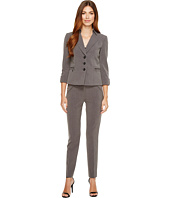 Tahari by ASL - 3/4 Length Sleeve Jacket & Pant Suit