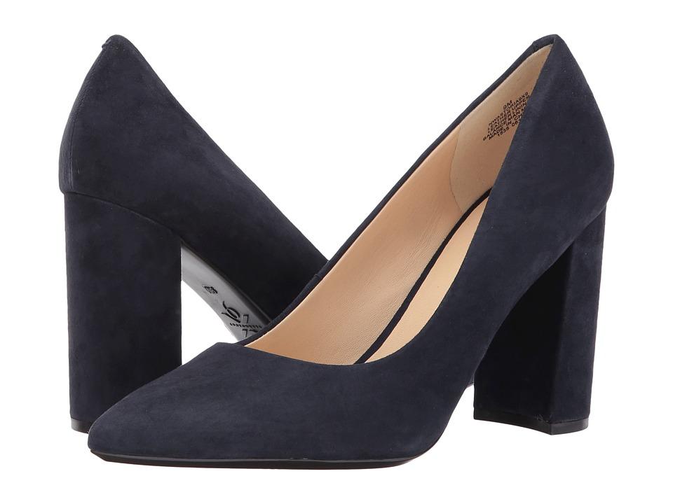 Nine West Astoria (Navy Suede) High Heels