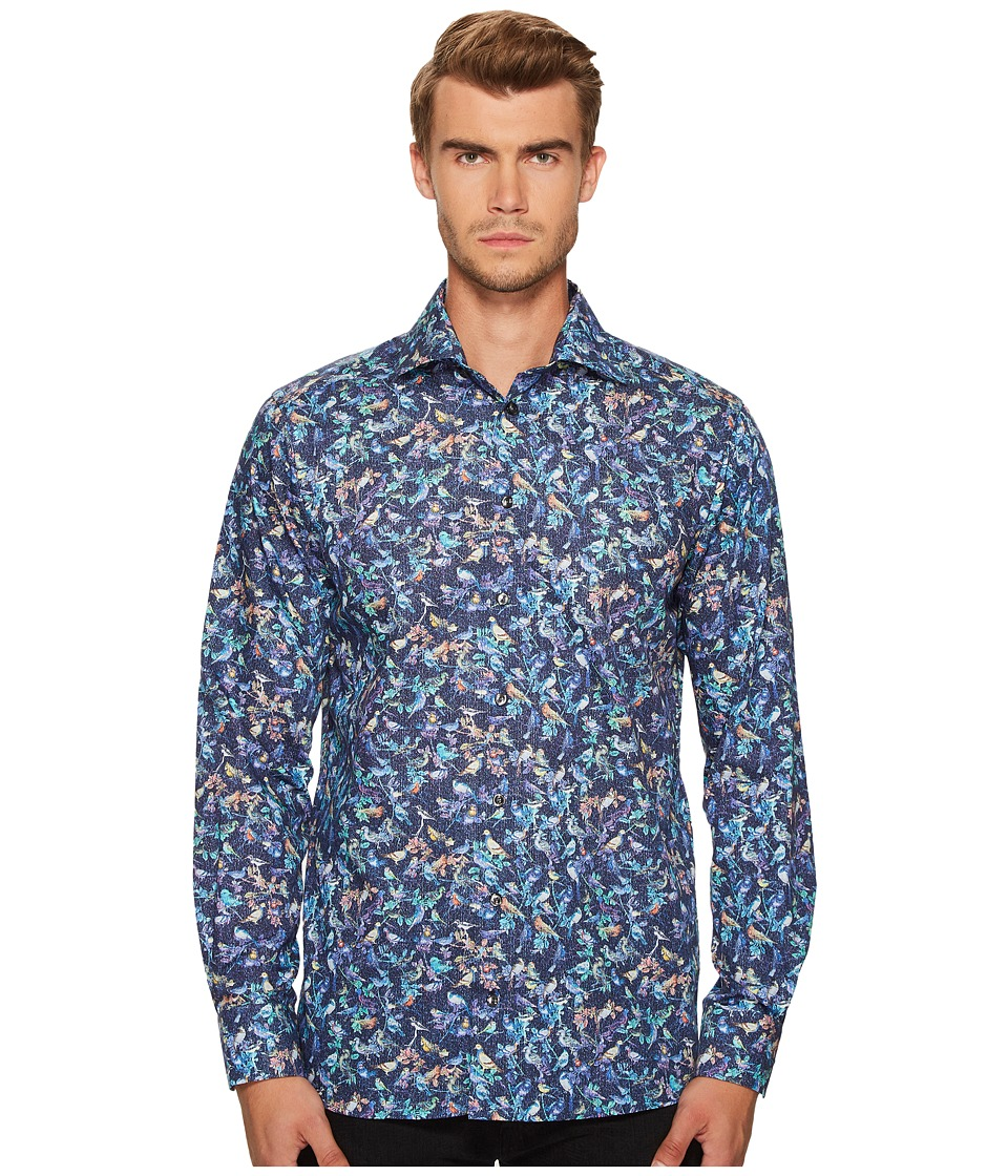 Eton - Contemporary Fit Bird Print Shirt