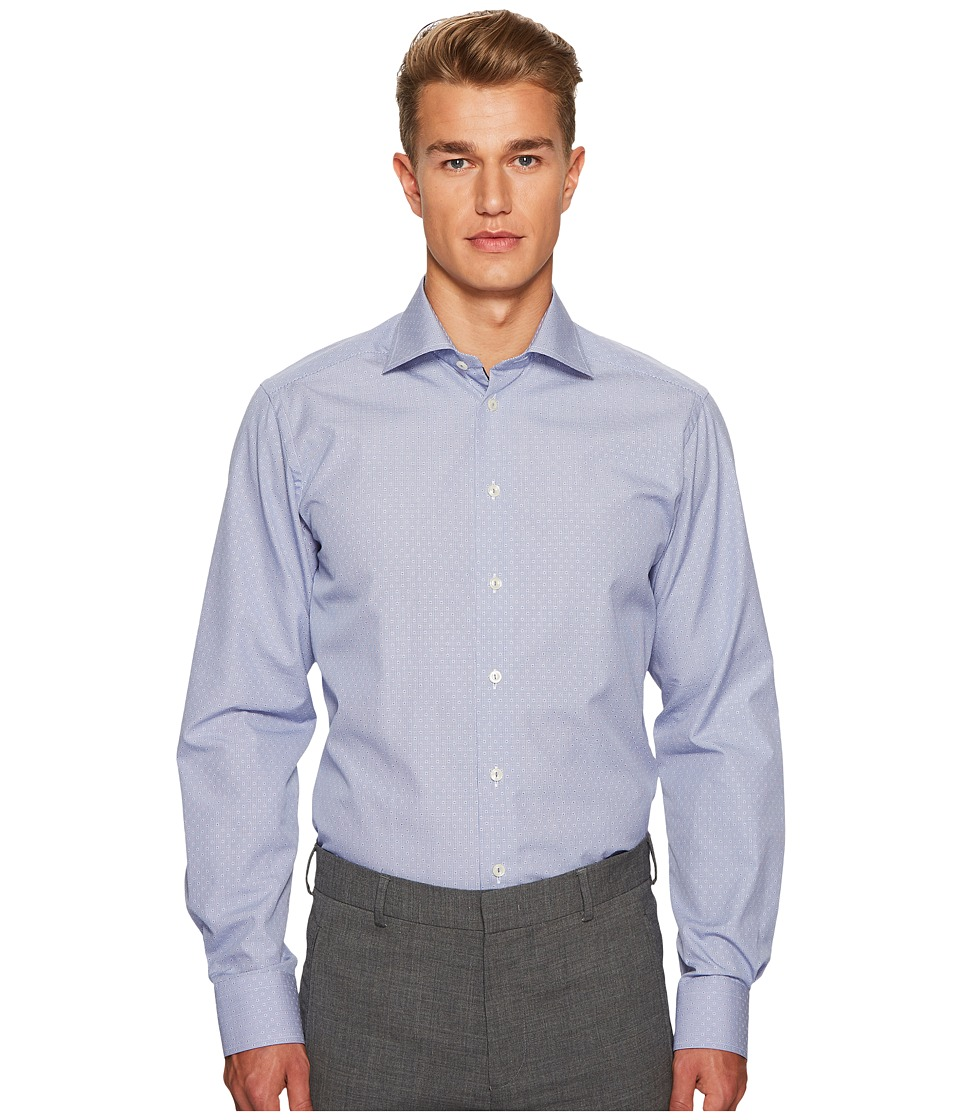 Eton - Contemporary Fit Grid Box Shirt