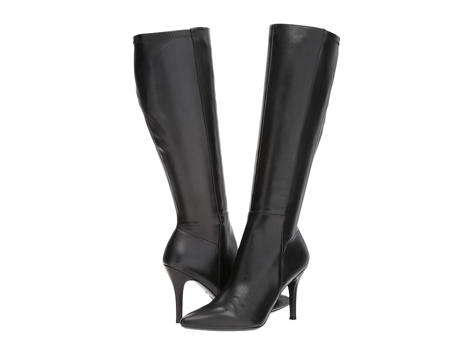 Nine West Fallon (Black/Black Leather) Women