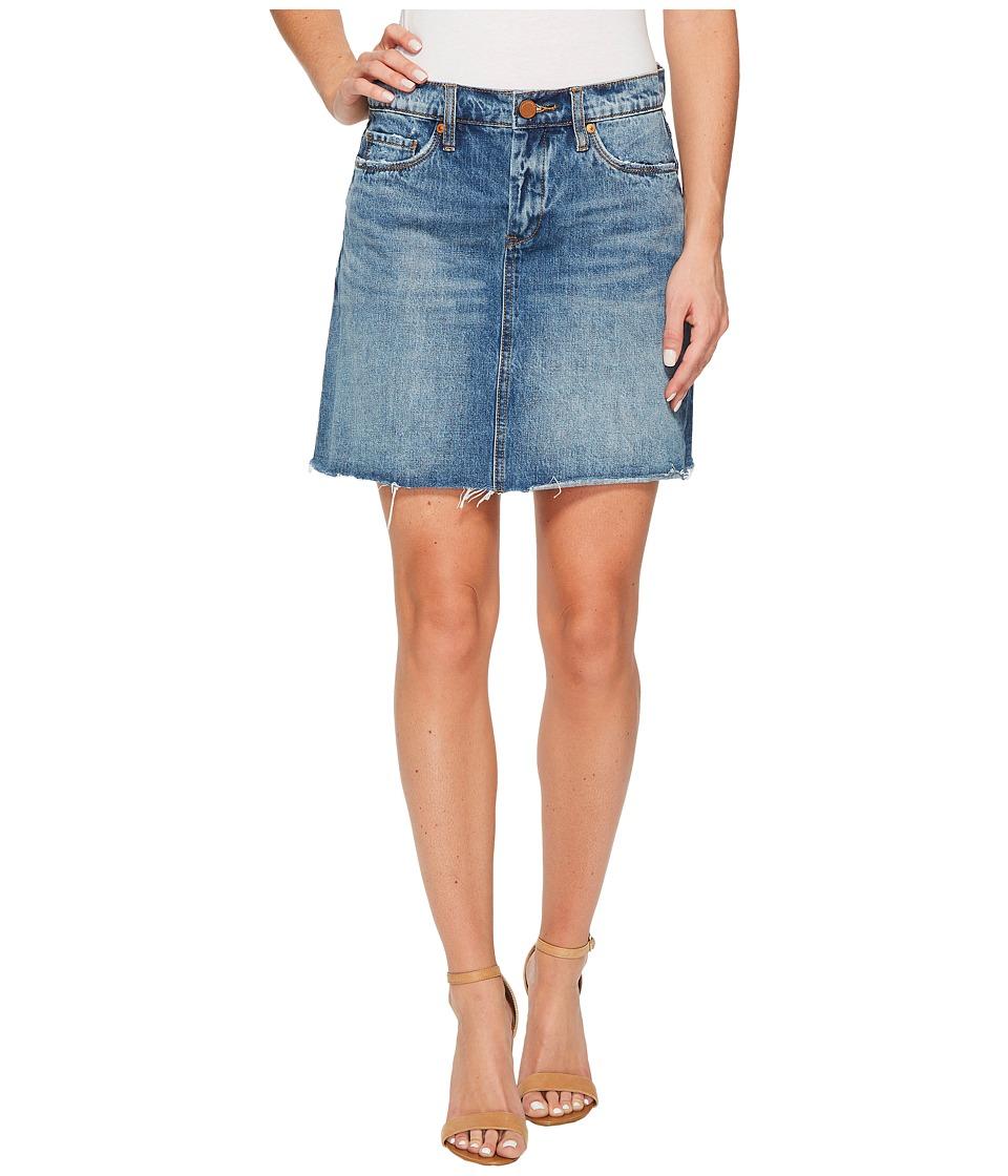 Blank NYC Denim A-Line Mini Skirt in Way Back When (Way Back When) Women