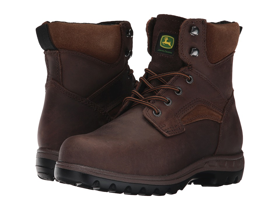 John Deere 6 Steel Toe Boot (Gaucho) Women's Work Boots