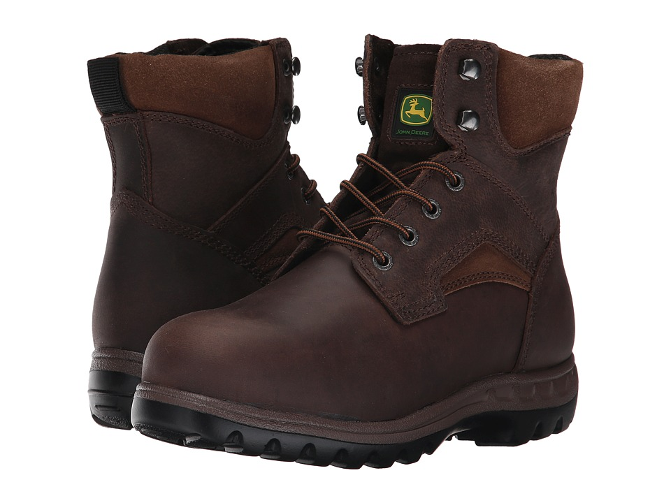 John Deere 6 Lace Up Boot (Gaucho) Women's Work Boots