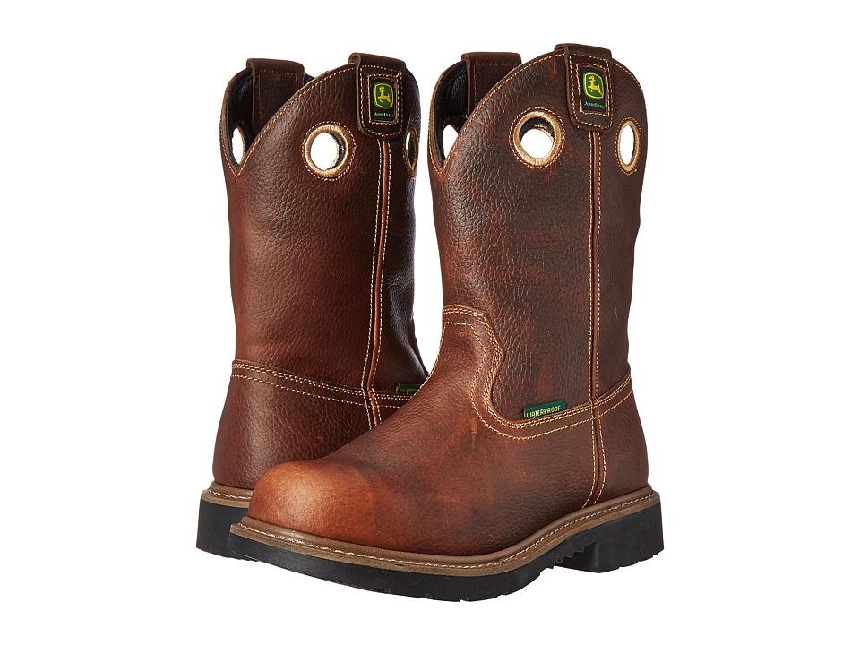 John Deere - JD4285 (Toasted Wheat) Men's Work Boots