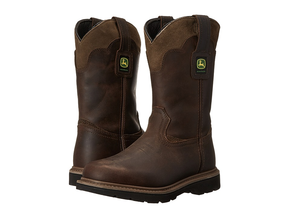 John Deere - 11 Soft Toe Boot (Gaucho Brown) Men's Work Boots