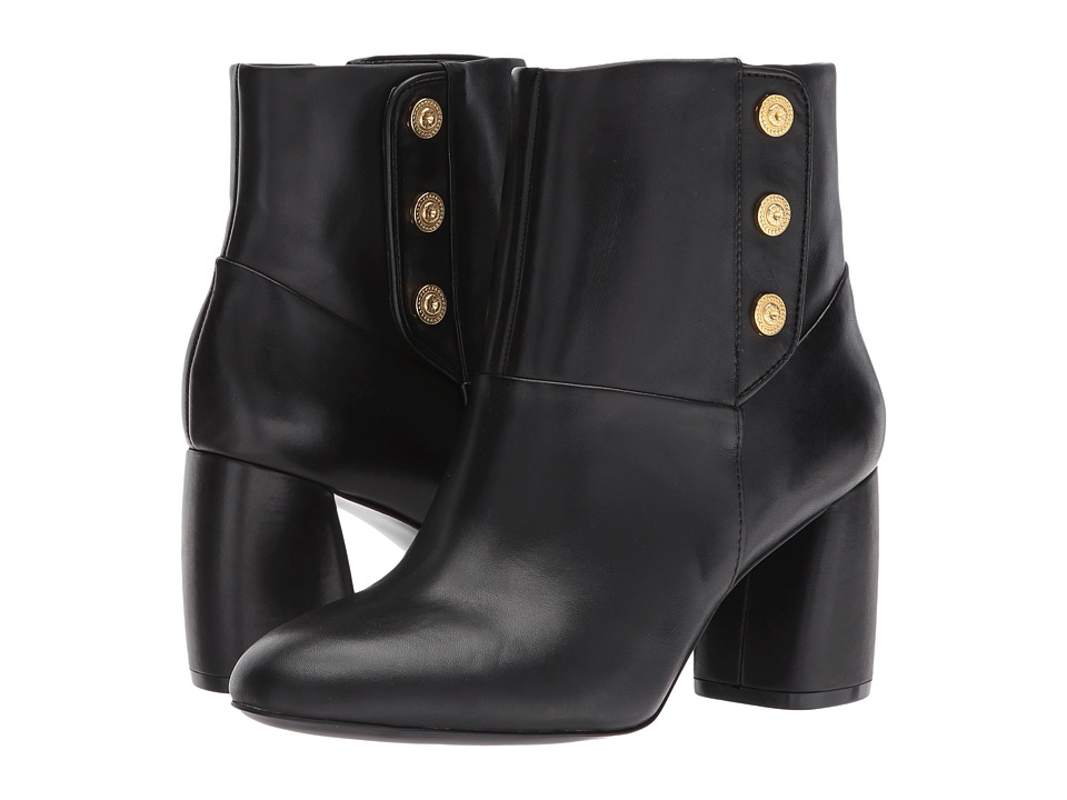 Nine West Kirtley (Black Leather) Women