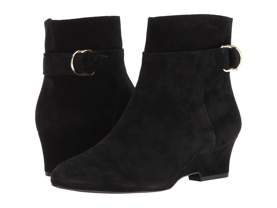 Nine West Jabali (Black Suede) Women