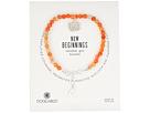Dogeared Gem Bracelet, New Begginings, Lotus Charm, Carnelian Bead