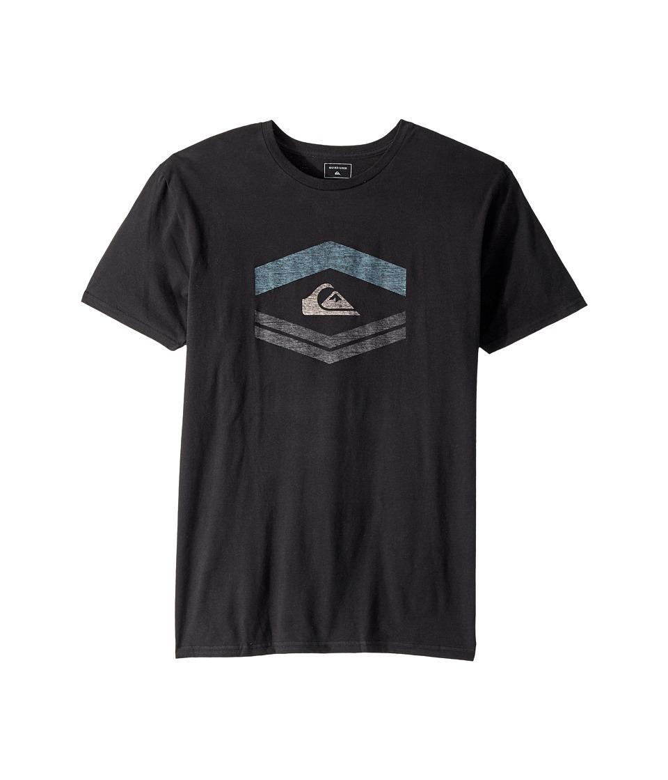 Quiksilver Friendly Fire Tee Shirt (Black) Men