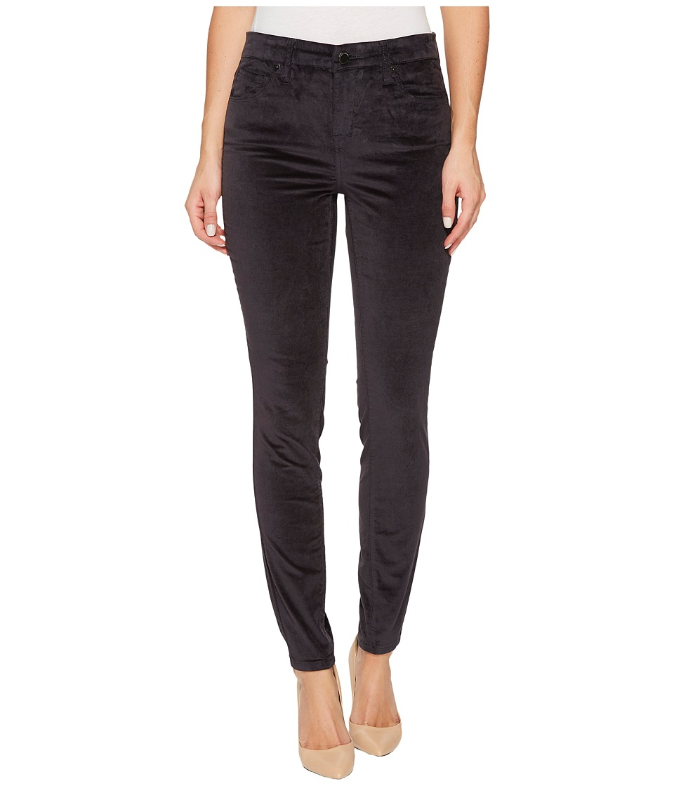 Blank NYC Grey Velveteen Skinny in Moonglow Grey (Moonglow Grey) Women