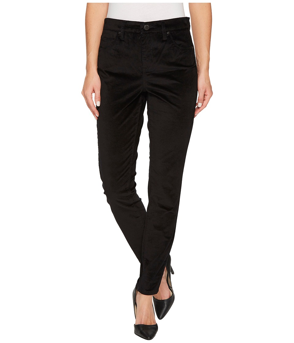 Blank NYC Black Velveteen Skinny in Raven Feather (Raven Feather) Women