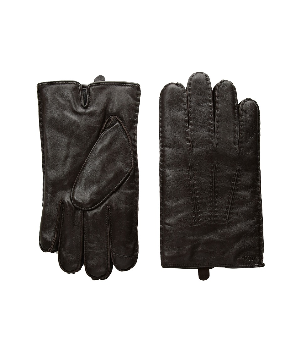 Polo Ralph Lauren Classic Cashmere Lined Touch Gloves (Circuit Brown) Extreme Cold Weather Gloves