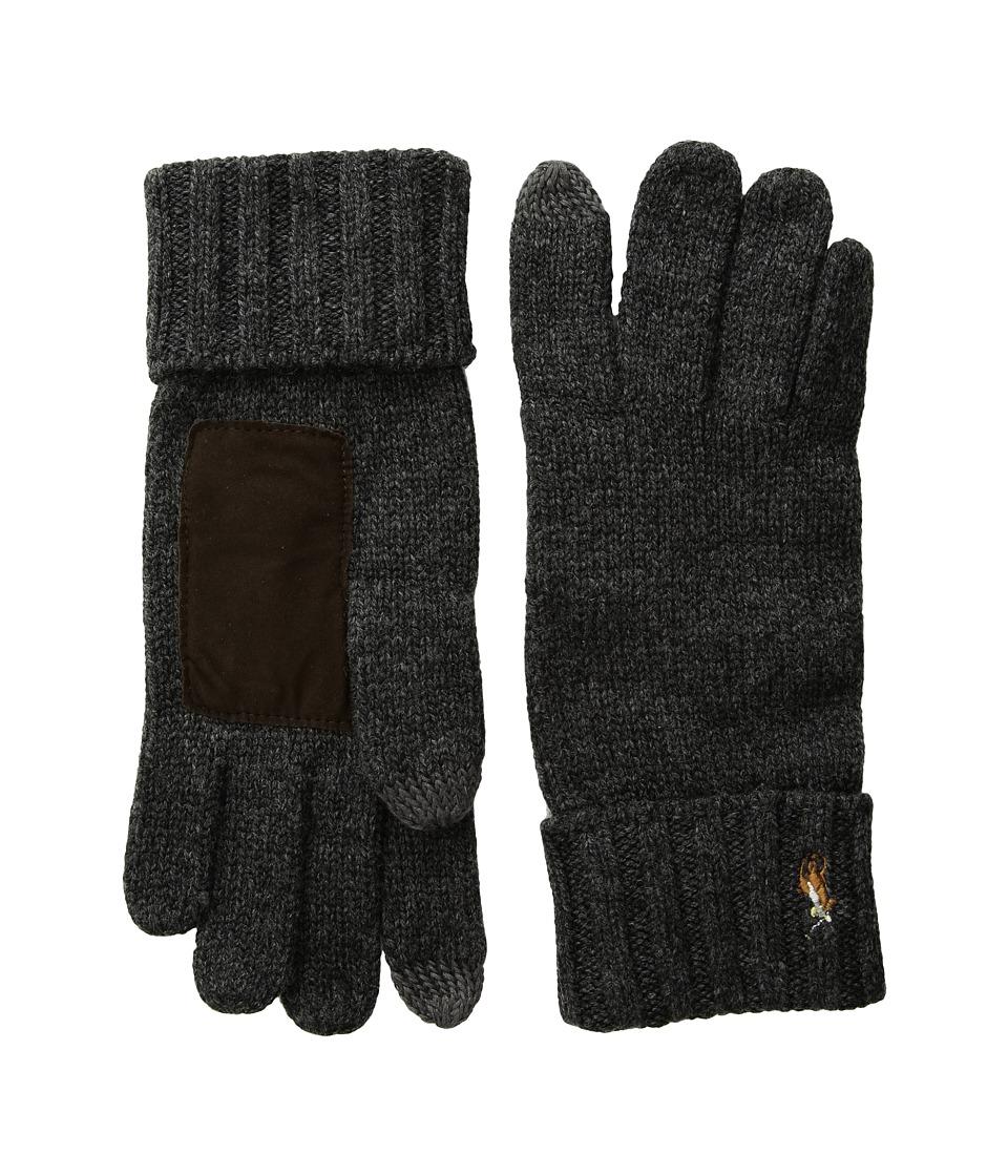 Polo Ralph Lauren Signature Merino Touch Gloves (Windsor Heather) Wool Gloves