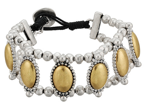 Lucky Brand Western Link Bracelet - Two-Tone