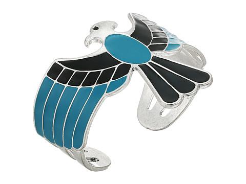 Lucky Brand Eagle Cuff Bracelet - Silver