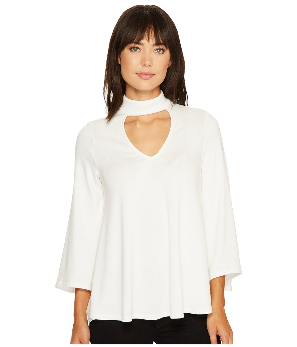 Karen Kane - Mock Neck Flare Sleeve Top