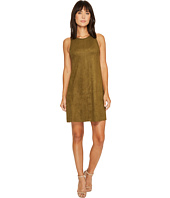 Karen Kane - Faux Suede A-Line Dress