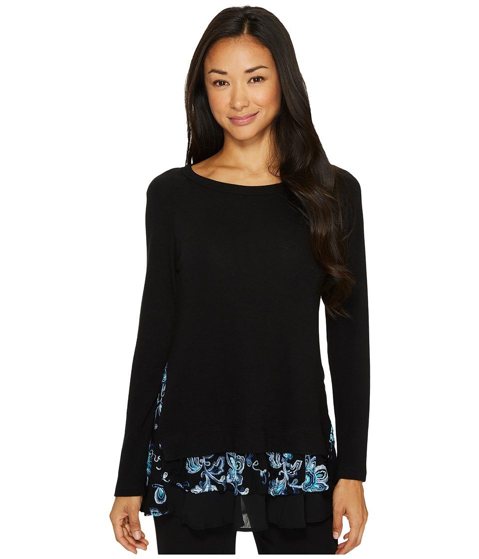 Karen Kane - Embroidered Inset Sweater