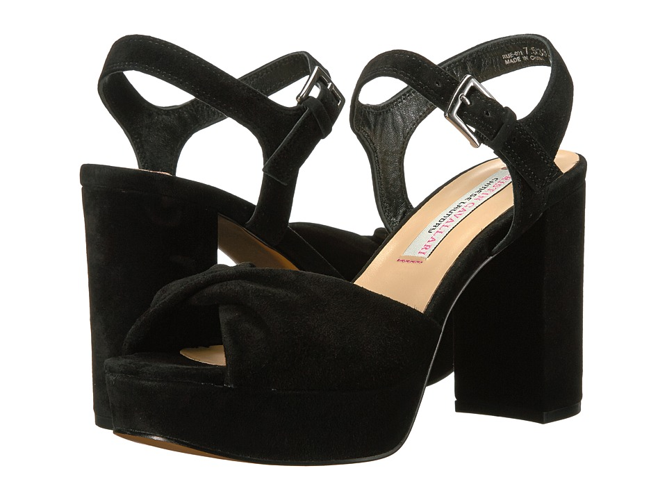 Kristin Cavallari - Ryne (Black Kid Suede) Women's Dress Sandals
