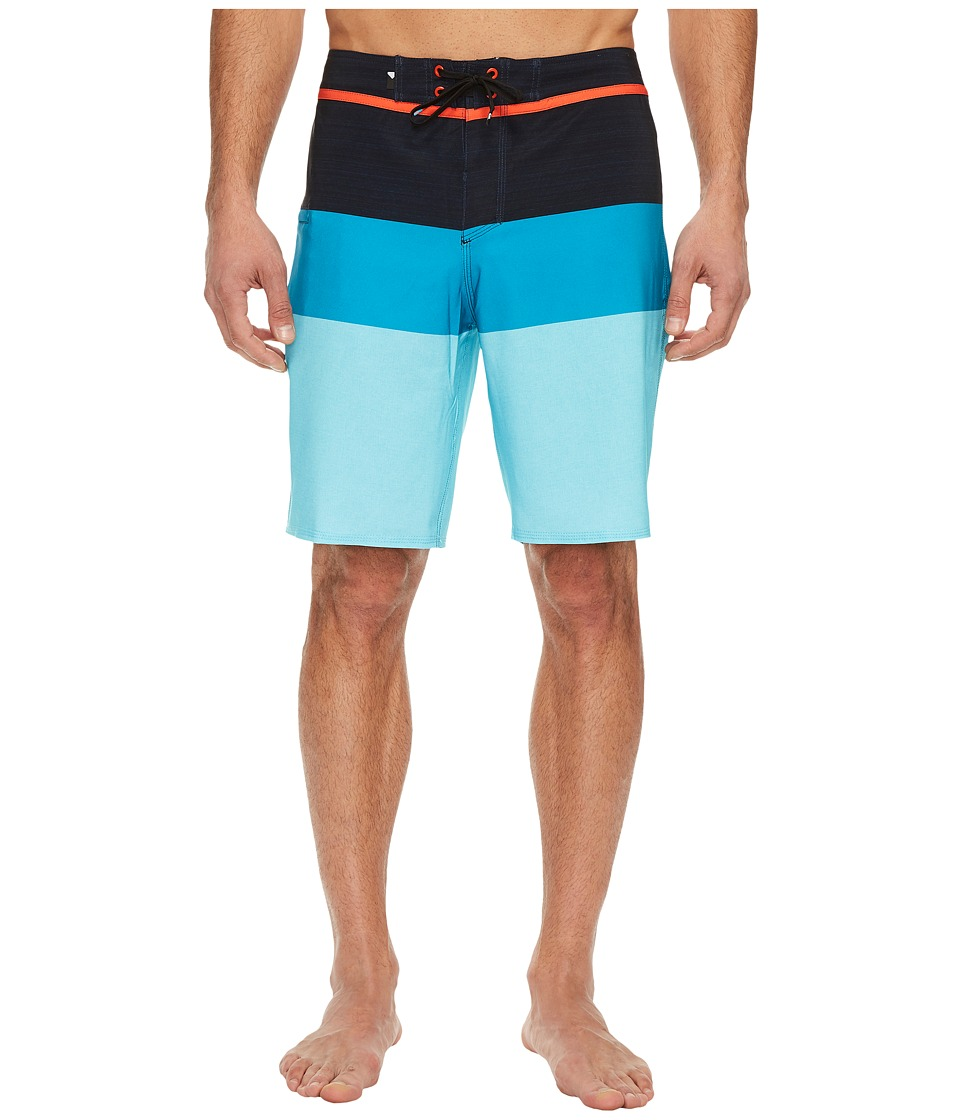 Quiksilver Everyday Blocked Vee 20 Boardshorts (Atomic Blue) Men
