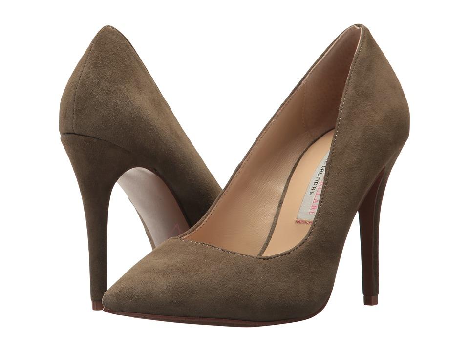 Kristin Cavallari Gisele Pump (Olive Kid Suede) High Heels