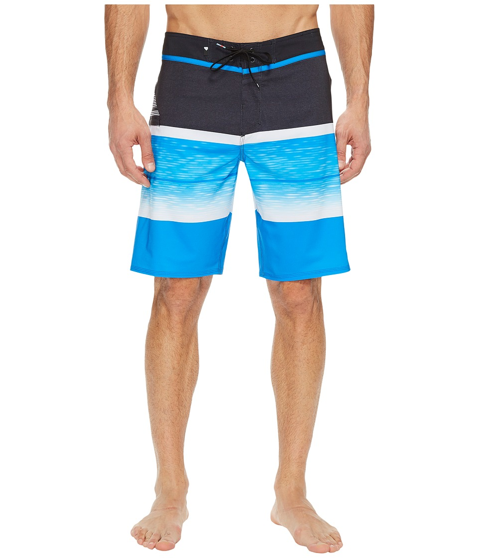 Quiksilver Slab Logo Vee 20 Boardshorts (Electric Blue) Men