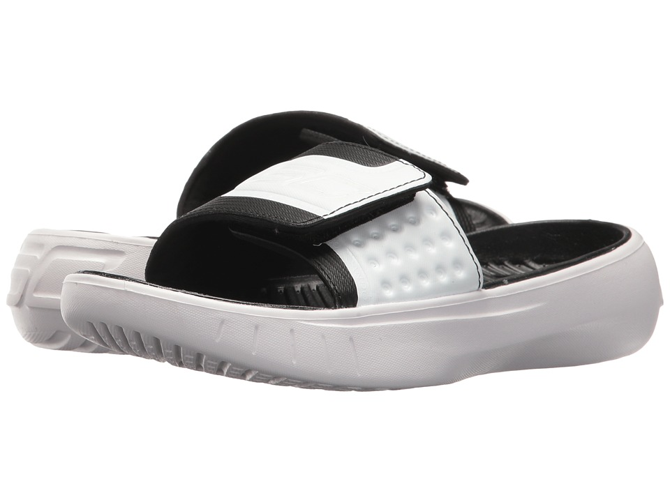 Under Armour Kids UA B Curry IV SL (Little Kid/Big Kid) (Black/White/Black) Boys Shoes