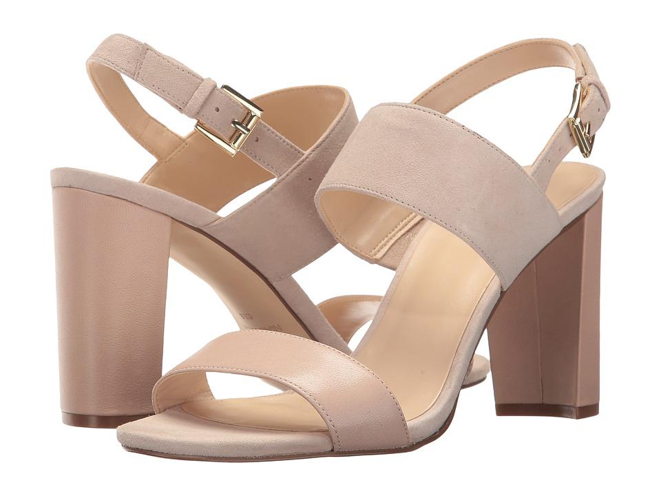 Nine West - Narolyn (Light Natural/Light Natural Suede) Womens Sandals