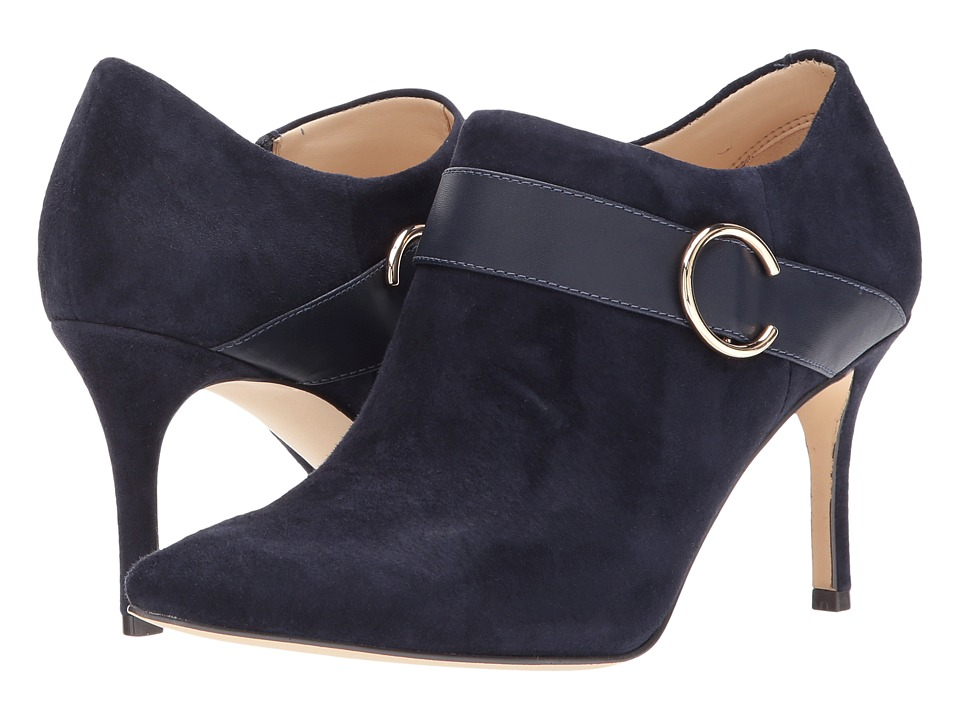 Nine West Megaera (Navy Suede) Women