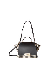 ZAC Zac Posen - Eartha Iconic Soft Top-Handle with Gingham Straw