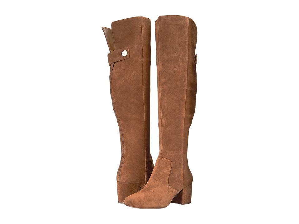 Nine West Queddy (Brown Suede) Women