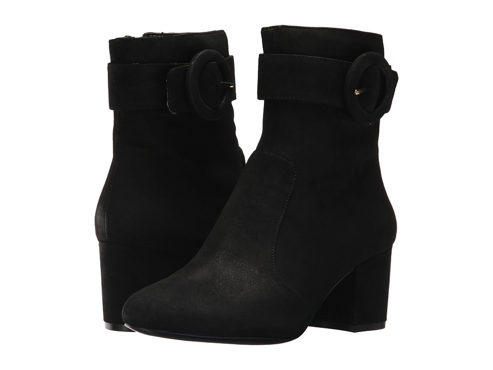 Nine West Quilby (Black Suede) Women