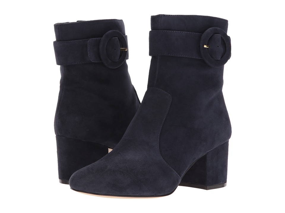 Nine West Quilby (Navy Suede) Women