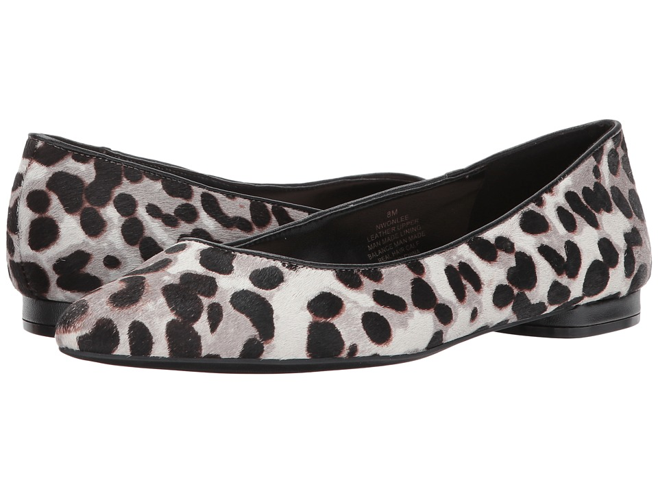 Nine West - Onlee 5 (Grey Multi/Black Pony) Womens Shoes