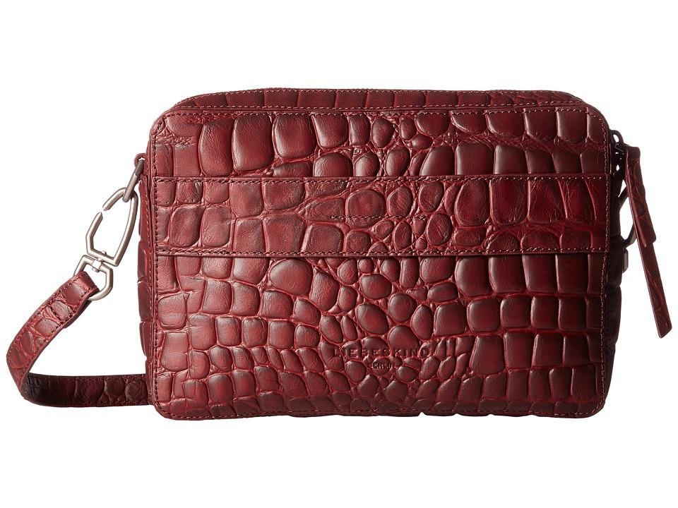 Liebeskind - Village (Warm Burgundy) Handbags