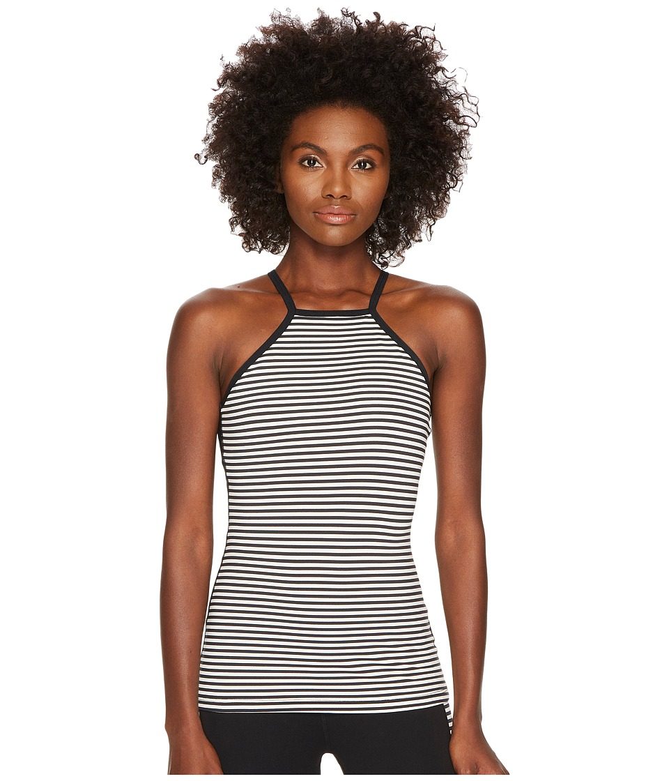 Kate Spade New York x Beyond Yoga Saturday Stripe Tank Top (Black/Cream Saturday Stripe) Women